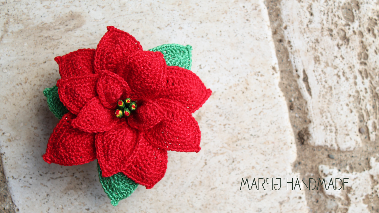 Maryj Handmade Stella Di Natale Alluncinetto How To Crochet A