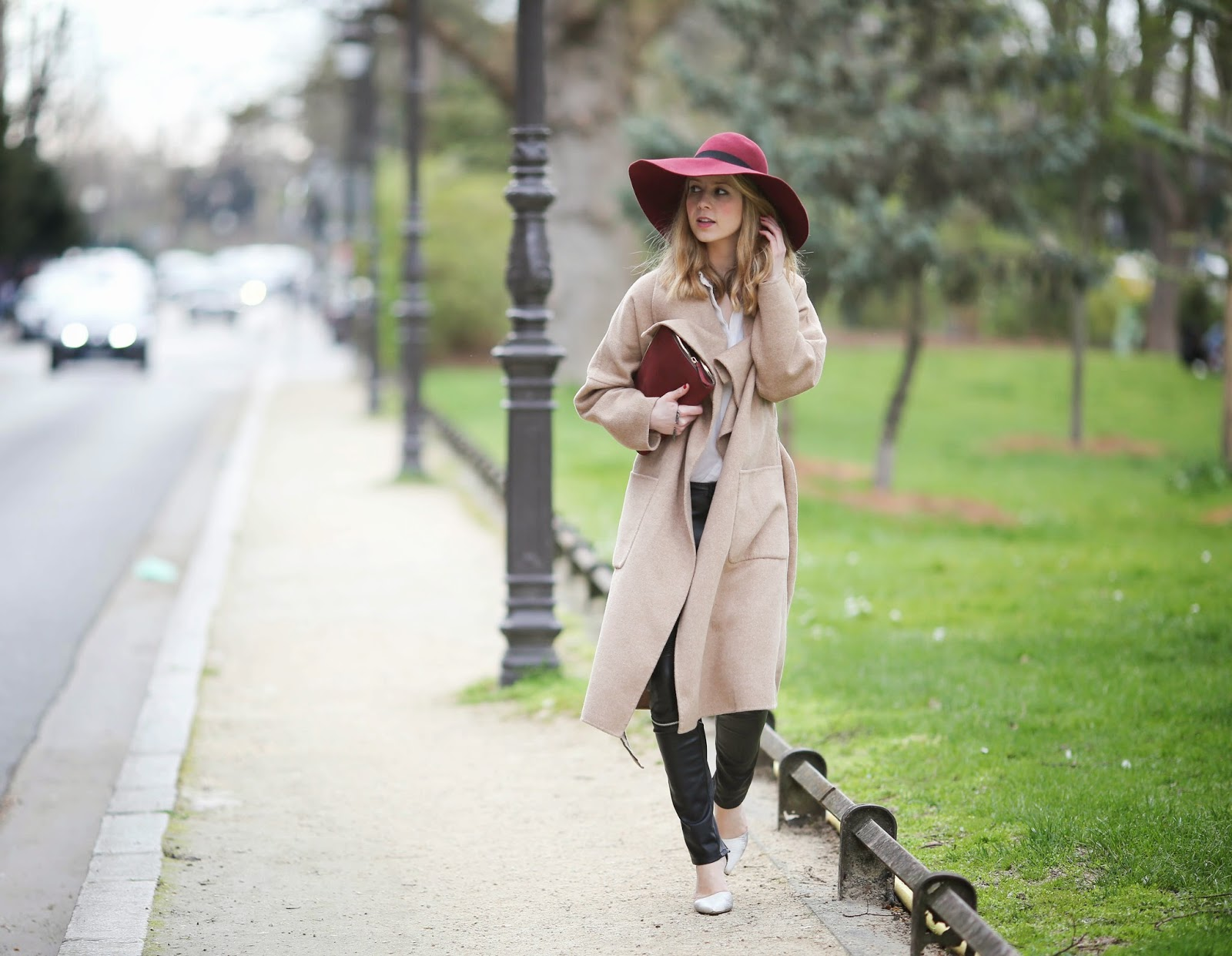 streetstyle, paris, maison michel, zara, &otherstories, pardonmyobsession