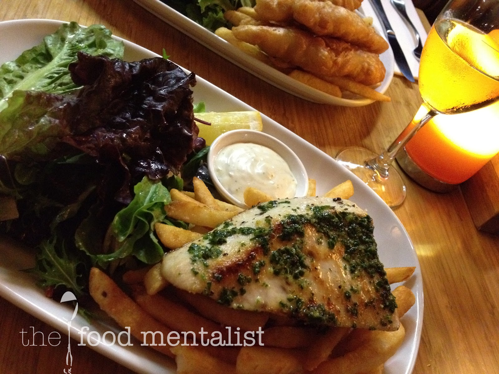 Cloudy bay lounge sydney opera house precinct for Petes fish and chips menu