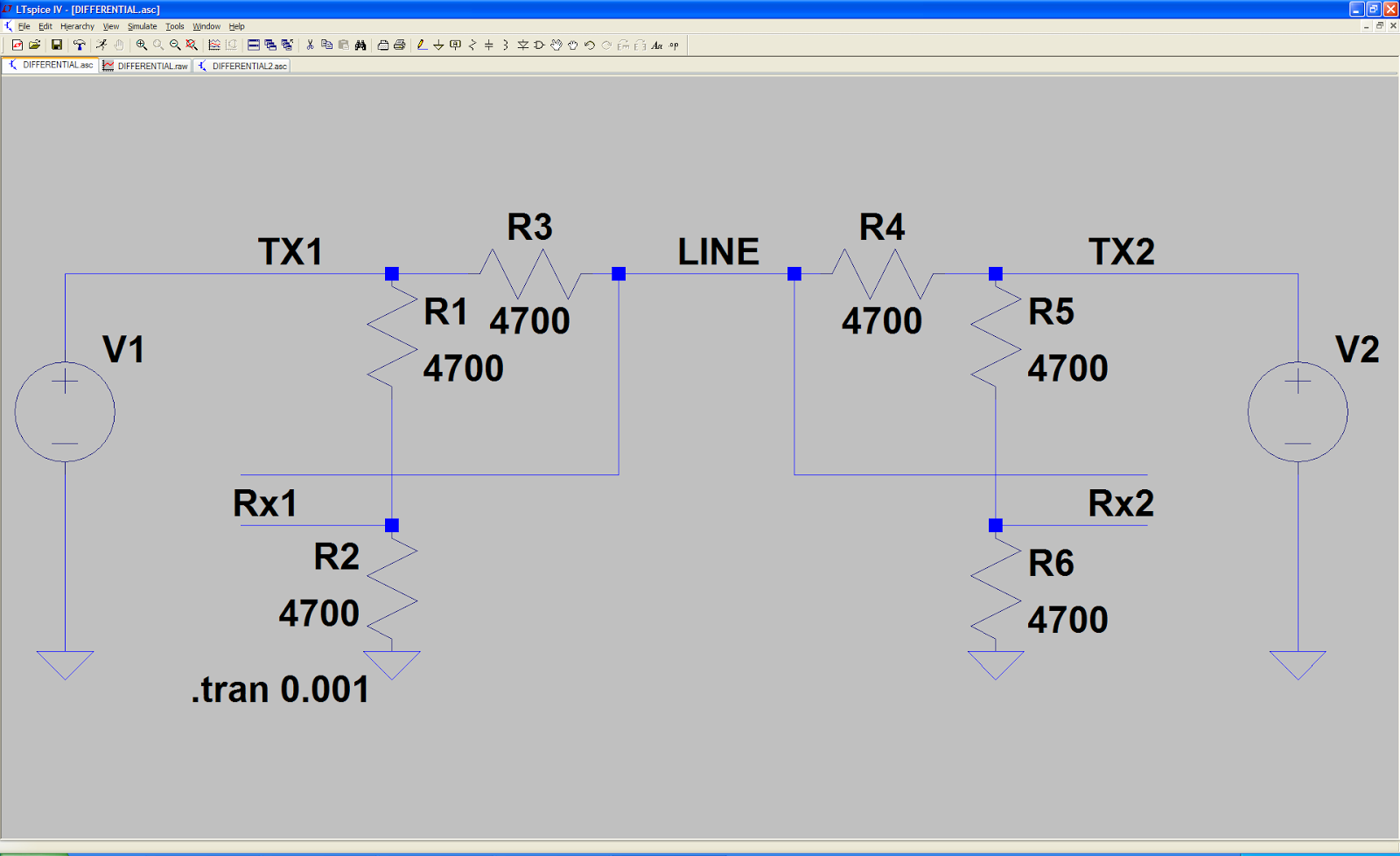 Ludzinc Logic Psu With Overvoltage Protection By Ic 7805 Figure 1 Differential Line Ltspice Model