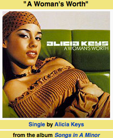 alicia keys: a woman's worth