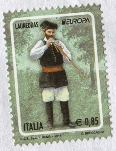 stamp, italy, europe