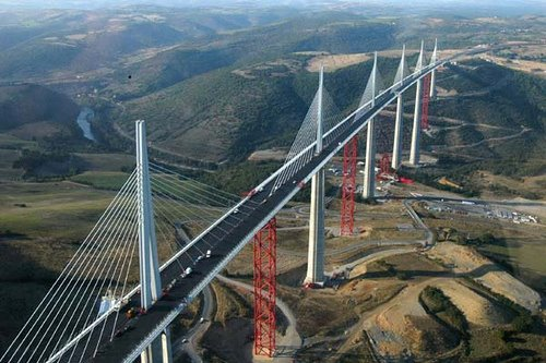 Amazing, Places, world, millau viaduct, geography