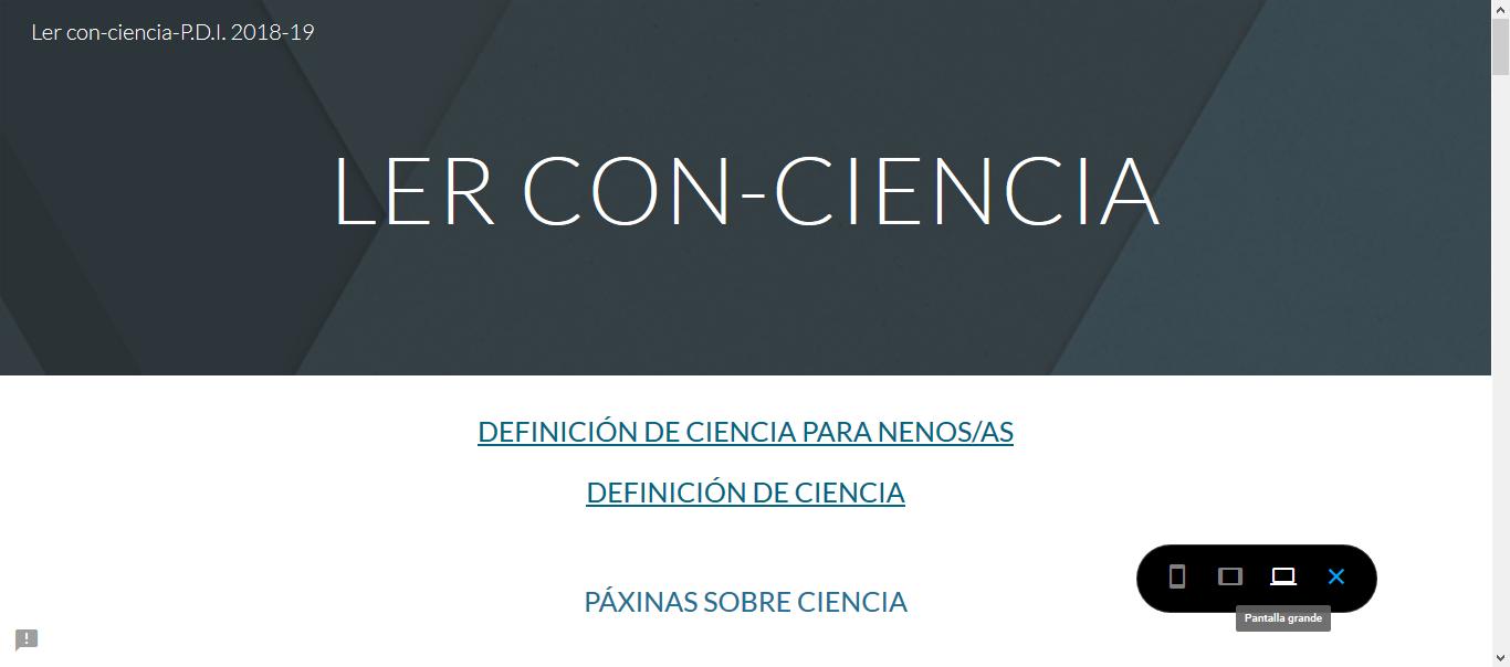 PROXECTO INTEGRADO 2018-19