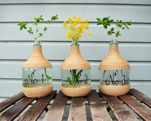Lemiemilleidee insoliti vasi da fiori for Porta vino fai da te