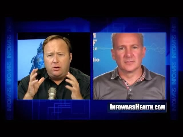 Shithead Peter Schiff was on the pinhead Alex Jones show