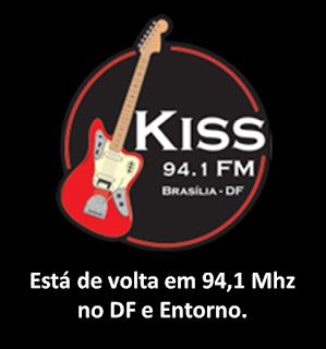 Rádio Kiss FM Brasília agora opera em 94,1