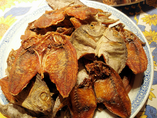 Simple pleasures philippines delicacies from cebu province for Dried fish philippines