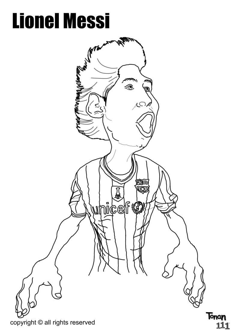 Ronaldo Coloring Pages