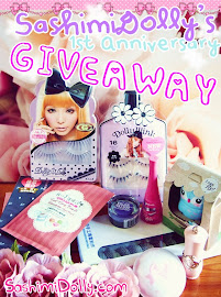 Sashimi Dolly's First Anniversary Giveaway!