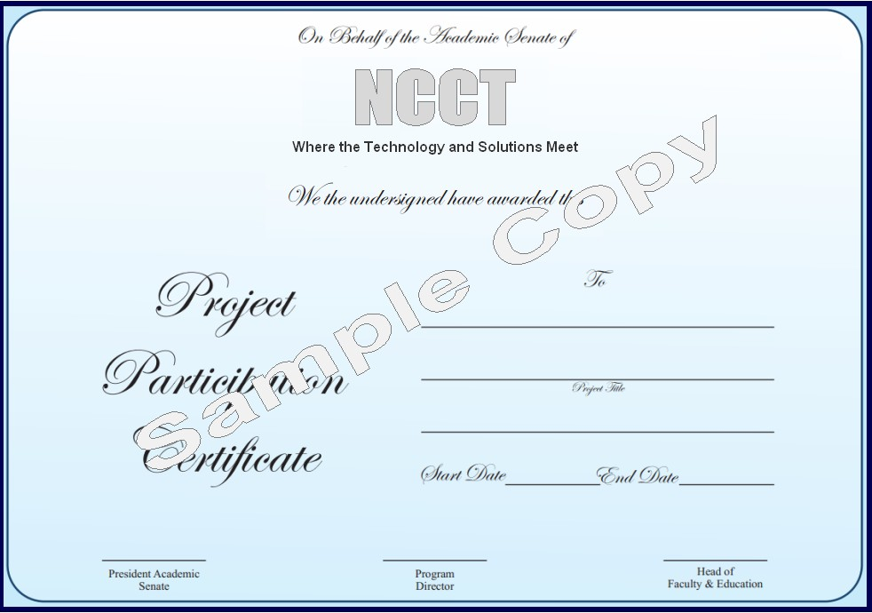 Ncct final year projects ieee projects 2013 ncct ncct ncct project participation certificate sample copy yadclub Images