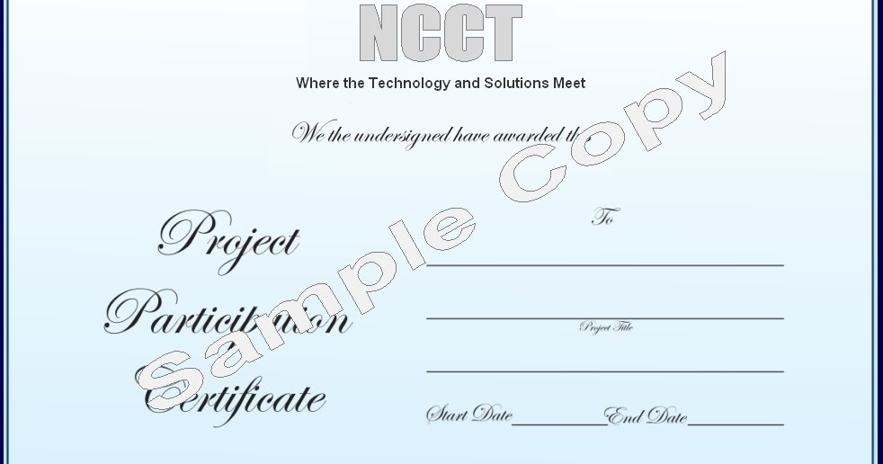 Ncct final year projects ieee projects 2013 ncct ncct ncct final year projects ieee projects 2013 ncct ncct project participation certificate sample copy yadclub Choice Image