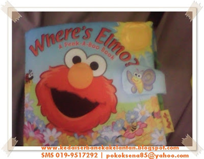 Soft Book - Where Elmo??
