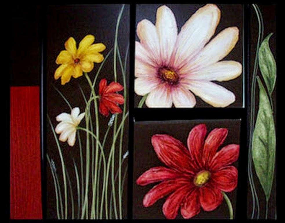 Cuadros pinturas oleos ideas para cuadros decorativos for Cuadros de manualidades modernos