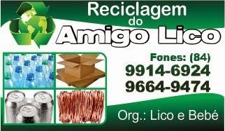 Reciclagem do Amigo Lico