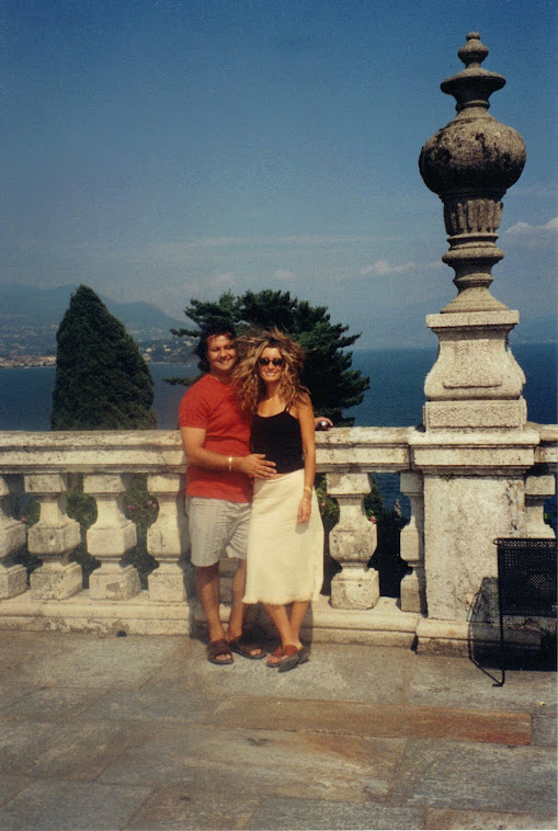 Me and Tony, Lake Maggiore