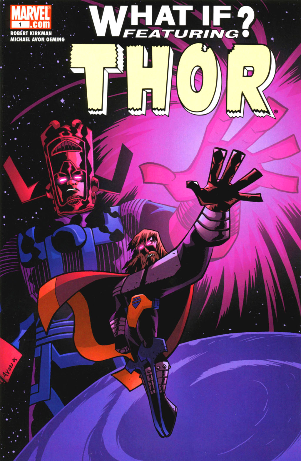 Galería de Portadores del Mjolnir - Thor Galactus