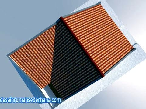 desain rumah 1 lantai - model atap a3