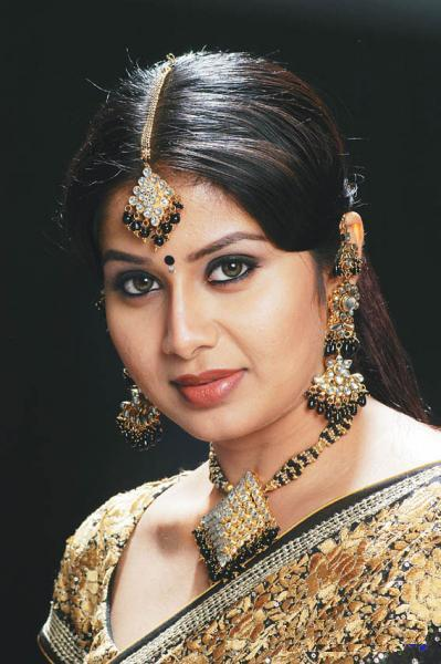 Beautiful Actress with Jewellery