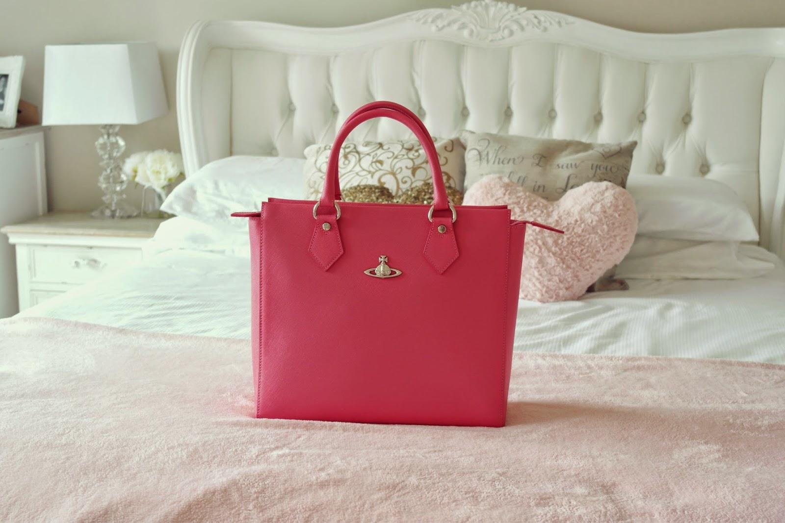 Vivienne Westwood pink handbag