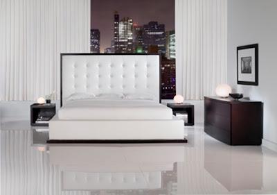 dormitorio matrimonial moderno minimalista