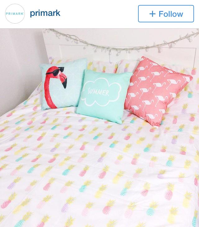 primark pineapple comforter