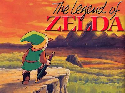 legend of zelda, quest, sword, forest, mountains