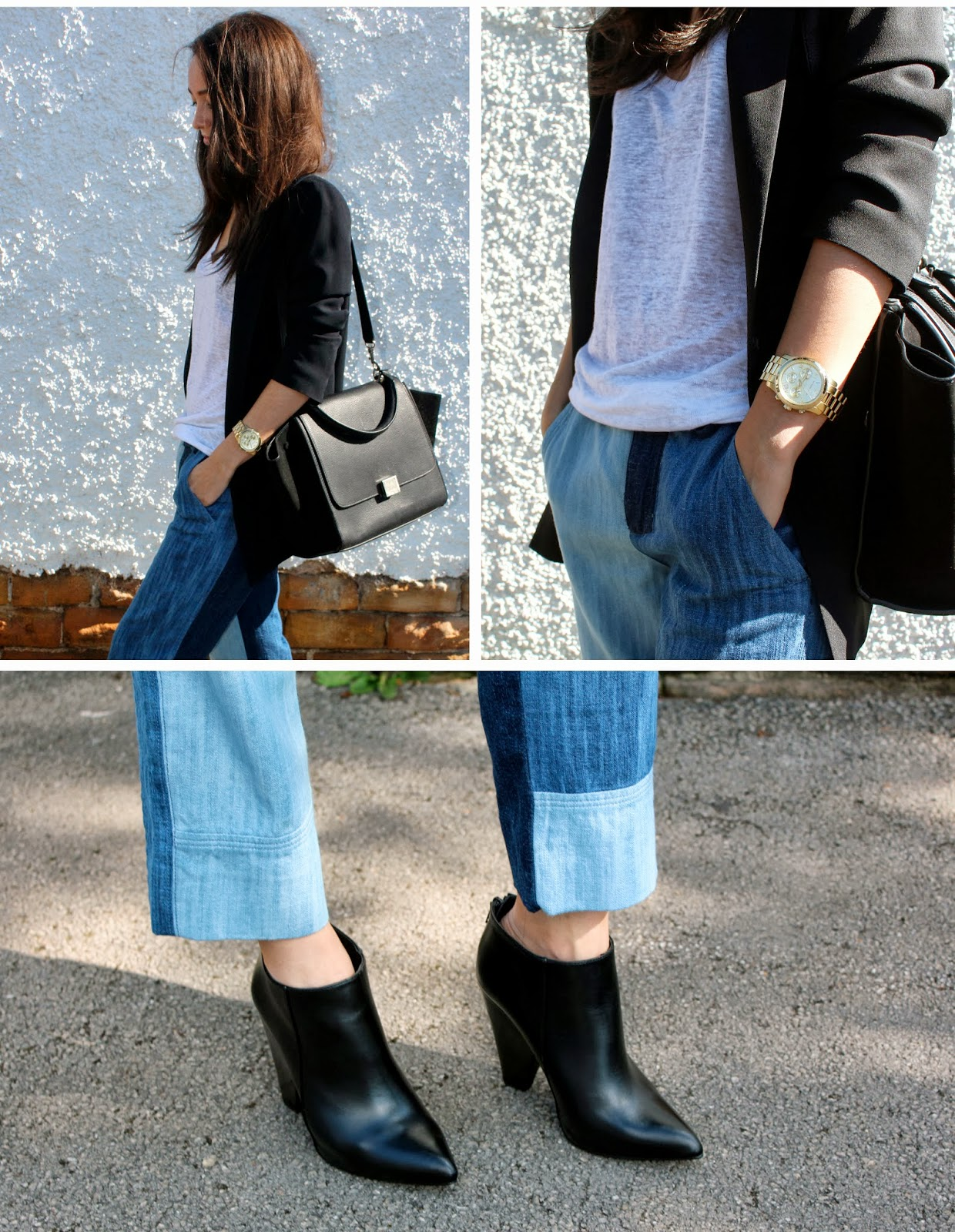 Zara Patchwork Denim Trend