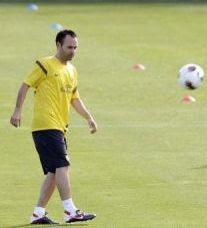 Barcelona podrá contar nuevamente con Andres Iniesta