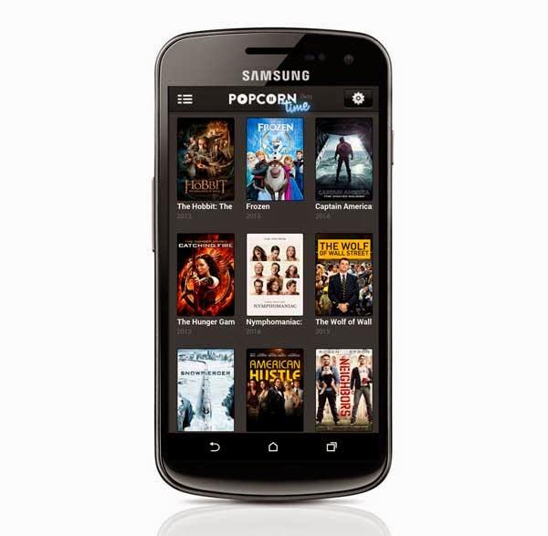Popcorn Time, películas gratuitas a través de Internet alcance de Android