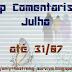 Top Comentarista: Julho