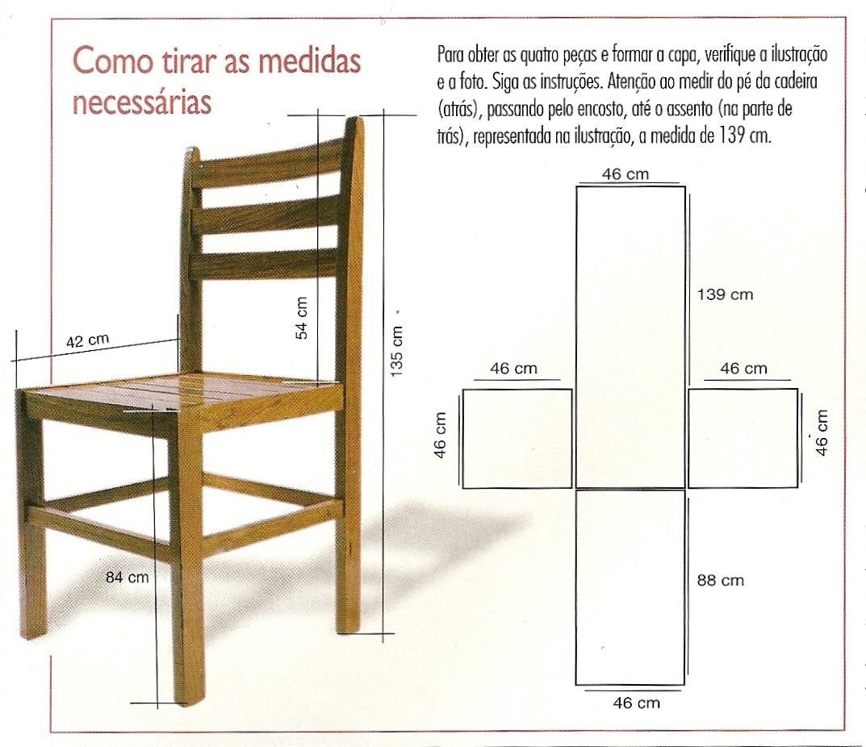 Como fazer você mesmo: Como fazer capas de tecidos para suas cadeiras #9B7030 1073x926