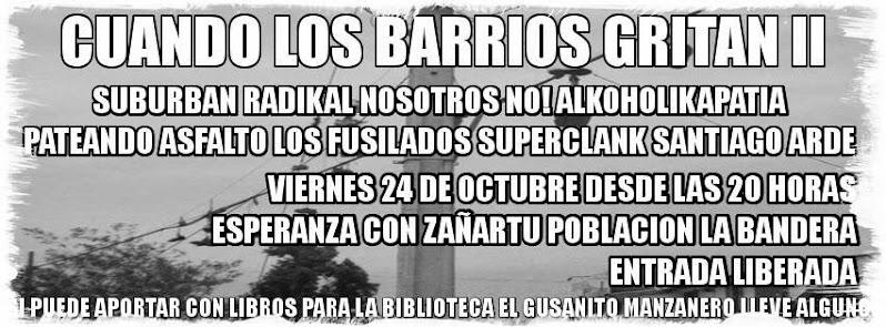 SAN RAMÓN:  CUANDO LOS BARRIOS GRITAN II