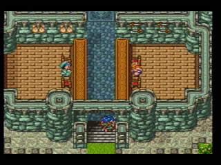 Oh yeah, the city-in-a-castle. Another Dragon Quest favorite!