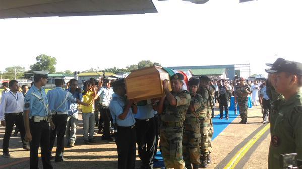 apj abdul kalam died body photos