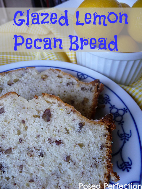 Glazed Lemon Pecan Bread