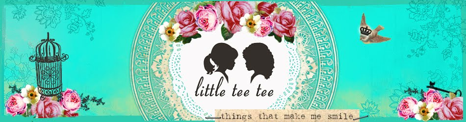 Little Tee Tee loves...