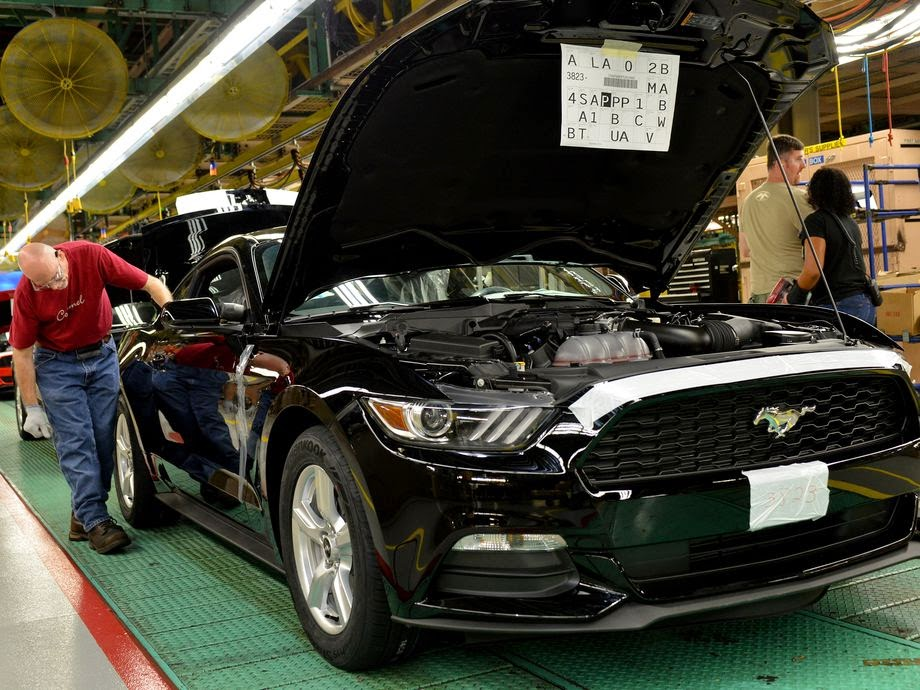 Ford Mustang Car 2015