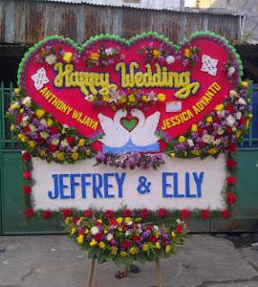 karangan bunga papan murah ke hotel bidakara, toko bunga, florist di jakarta selatan, bunga buat acara pernikahan