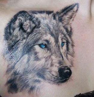 White Wolf Tattoo