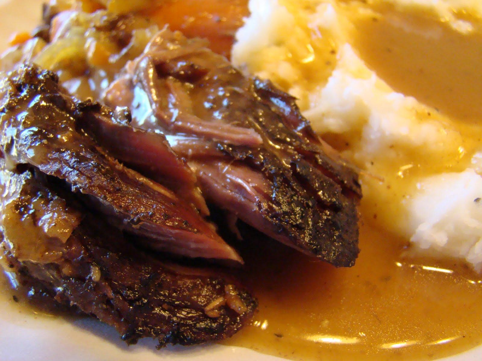 how to make roast beef fall apart tender