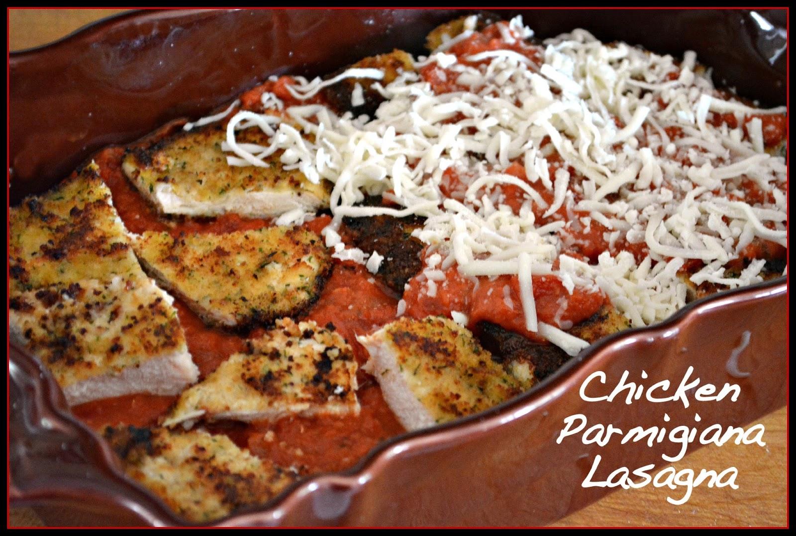 Chicken Parmigiana Lasagna