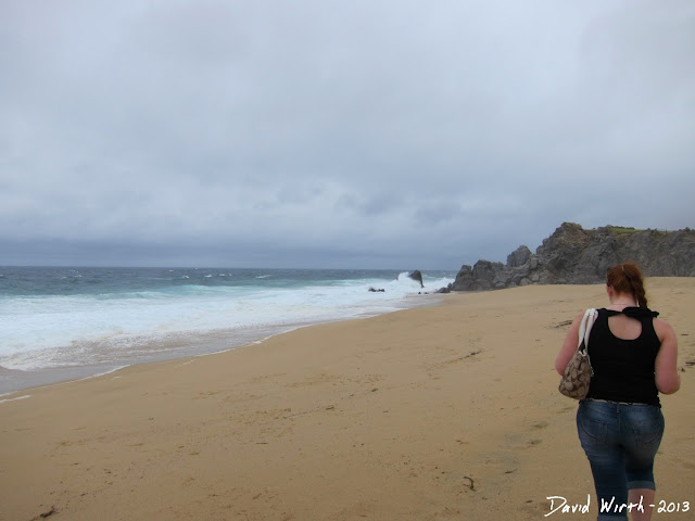 walking along the beach, pacific ocean, cabo resort, all inclusive