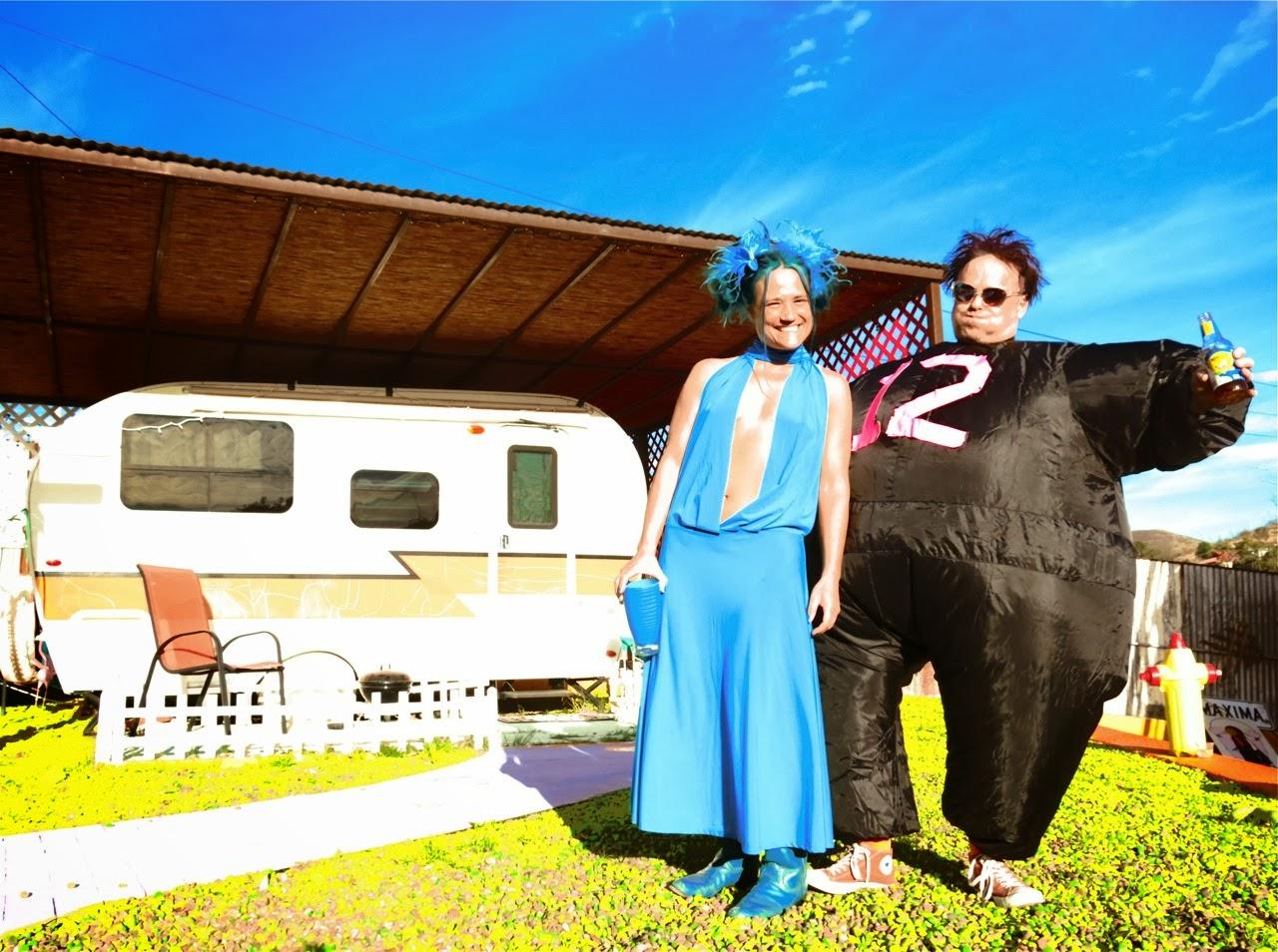 PAINTRESS GRETCHEN: Doug Stanhope Superbowl Celebration 2014