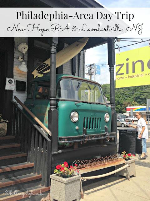 Philadelphia Area Day Trip: New Hope, PA and Lambertville, NJ