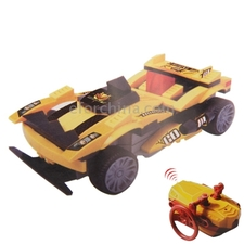 89pcs DIY 4 Channal RC Racing Car Building Blocks Speed Racing Car