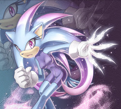 Aurora magic the hedgehog