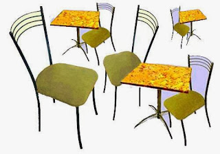Фото вот один из наборов столов и стульев