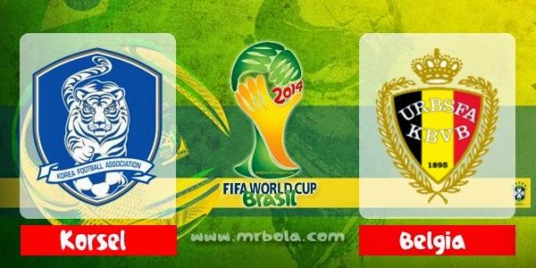Prediksi Korea Selatan vs Belgia 27 Juni Piala Dunia 2014