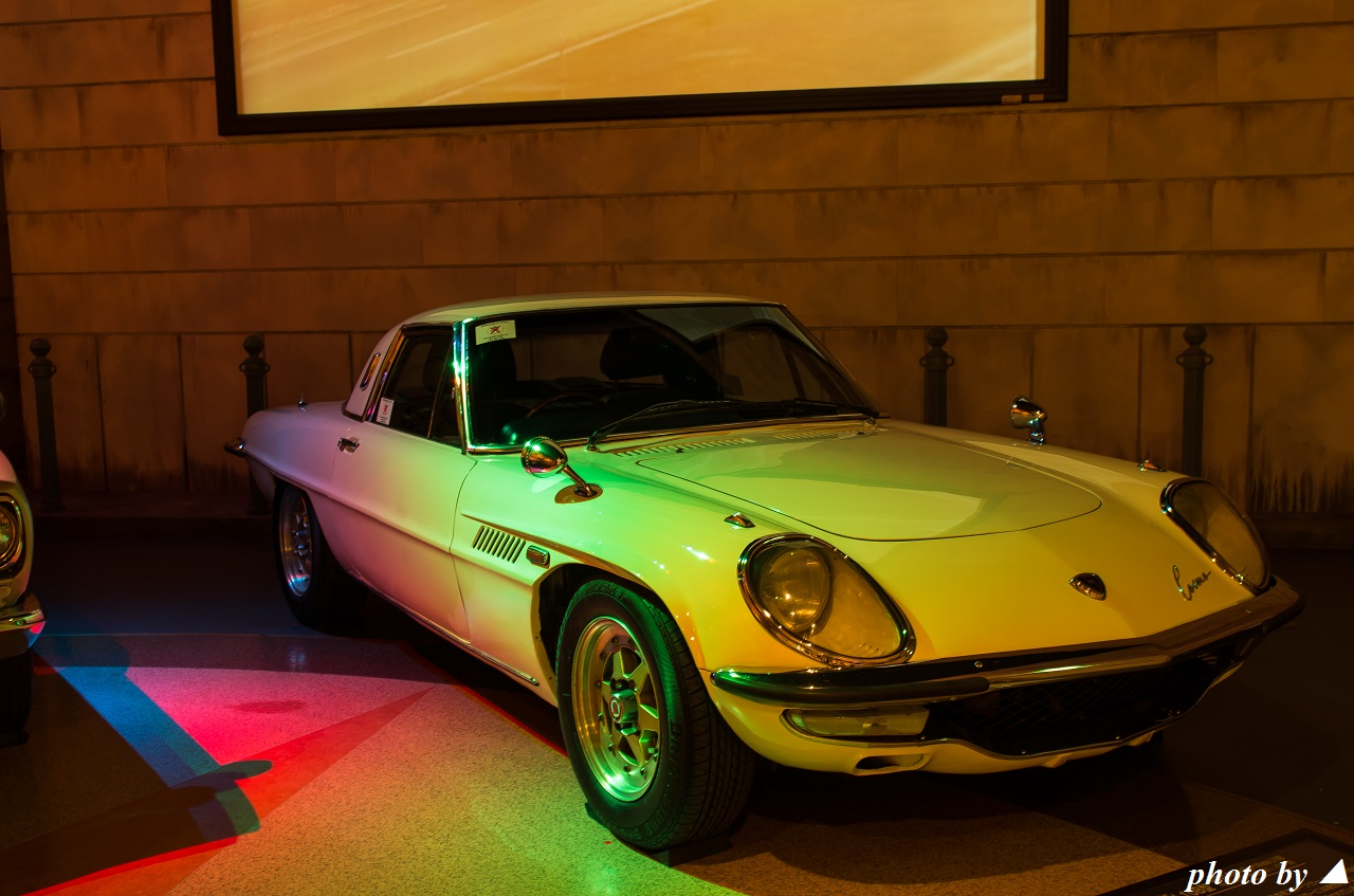 Mazda Cosmo Sport, samochód z duszą, stary japoński klasyk, sportowy, piękny design, ciekawy, wankel, rotary, 10A, 2-rotor